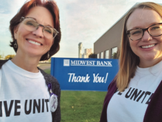 United Way and Midwest Bank